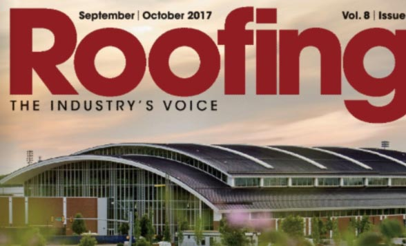 As Featured in ROOFING Magazine