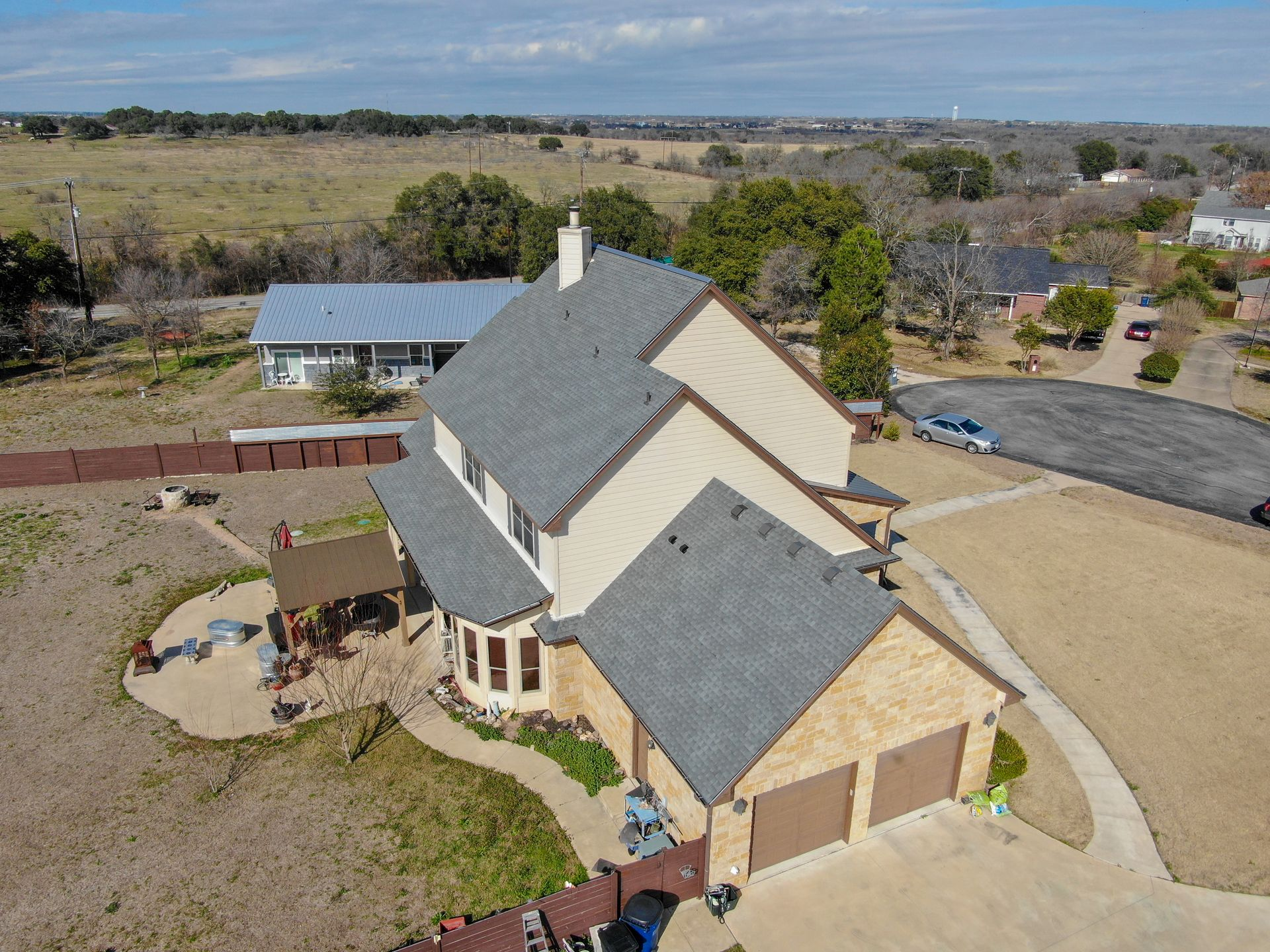 Hail Damage Texas Traditions Roofing Georgetown Tx