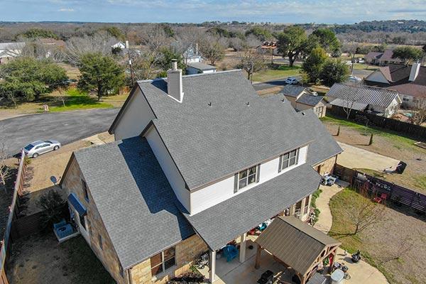 House Asphalt Roof